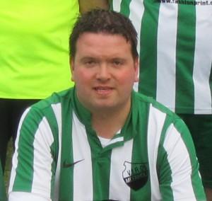 Mann des Spiels: Christian Kosbu, der vier Treffer erzielte