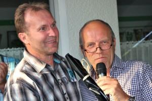 Zwei, die sich verstanden: Uwe Müller (links) und Horst Uffelmann.