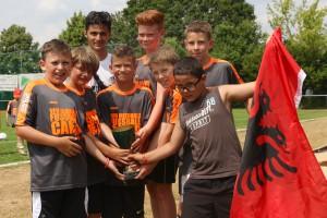 Albanien hieß der Sieger bei den älteren Jahrgängen (Bild: K.Brune)