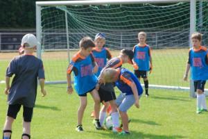 Die Fußball-Mini-EM sorgte für viel Spaß (Foto: K. Brune)